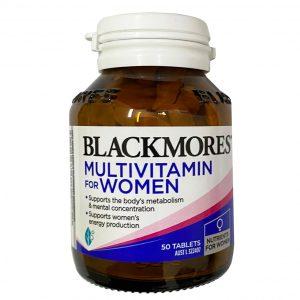 Blackmores Vitamin tổng hợp cho nữ 50 viên – Bổ sung vitamin toàn diện cho phụ nữ