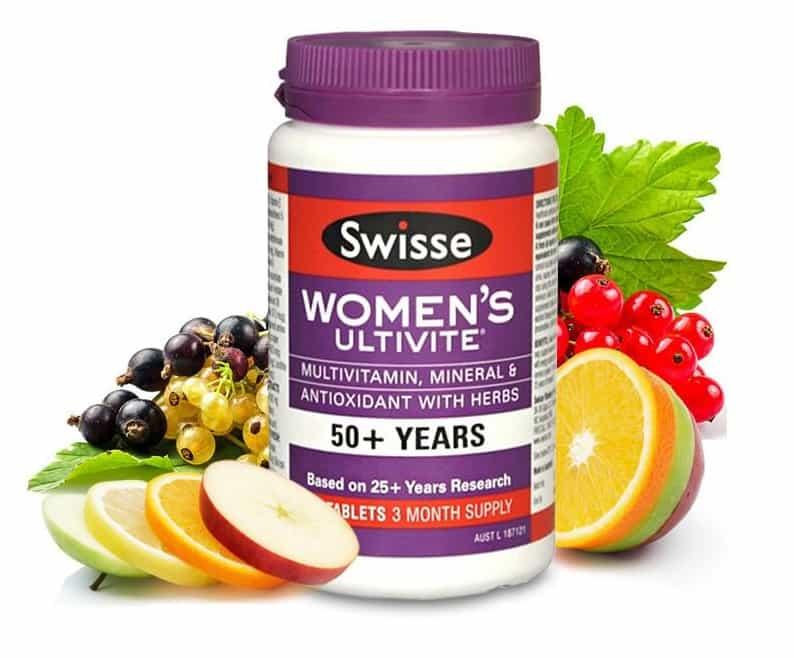 Vitamin tổng hợp nữ 50+ Swisse