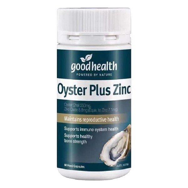 Tinh chất hàu GoodHealth Oyster Plus ZinC 60 viên Úc