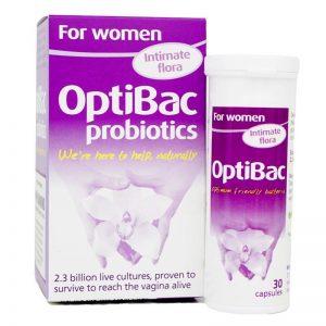 Men vi sinh Optibac 30 viên, 90 viên – Men vi sinh dành cho phụ nữ
