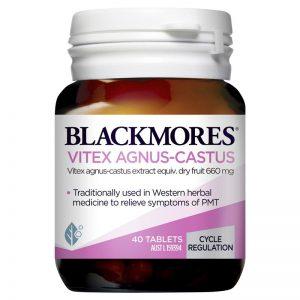Viên uống nội tiết tố nữ Blackmores Vitex Agnus Castus 40 viên