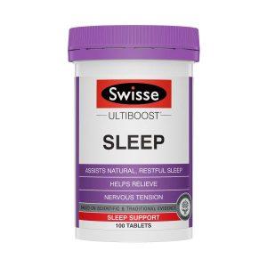 Viên uống hỗ trợ giấc ngủ Swisse Sleep 100 viên của ÚC